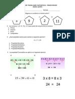 Matemáticas 5°