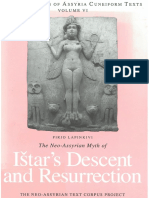[State Archives of Assyria Cuneiform Texts 6] Pirjo Lapinkivi - The Neo-Assyrian Myth of Ištar's Descent and Resurrection (2017, Neo-Assyrian Text Corpus Project)