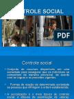 Controle social. - slides