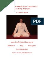 Meditation Training Manual
