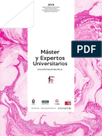 Master y Expertos Universitarios