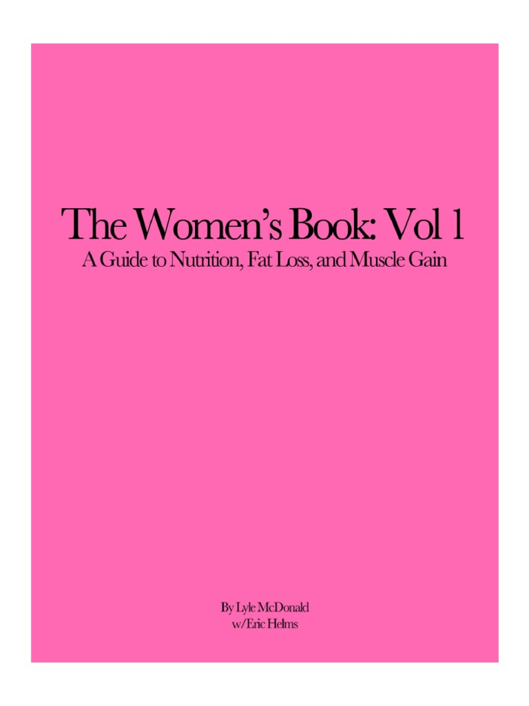 the womens book vol 1 lyle mcdonald free download