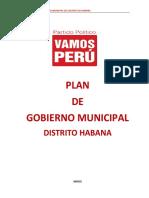 Plan de Gobierno Vamos Peru