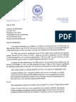 Letter From West Virginia Secretary of State Mac Warner