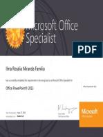 Powerpoint certification