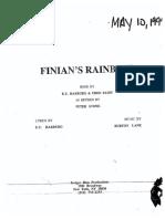 Finian's Rainbow [Script]