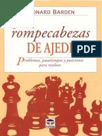 300 rompecabezas de ajedrez - Leonard Barden -.pdf