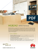 Huawei EchoLife HG8242(GPON) Brief Product Brochure(2011!01!20)