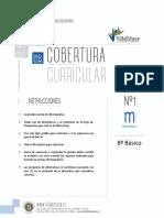 CCURRICULAR1 MATEMATICA 8BASICO