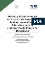 RÍO - Diseño y elaboración de un Análisis de Puestos de Trabajo en un Centro Educativo para la el....pdf