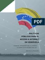 Restricciones del acceso a Internet en Venezuela (ESTUDIO)