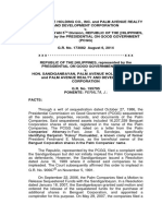 GR No. 173082 (2014) - Palm Avenue v. Sandiganbayan