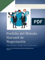 Porfolio Del Método Harvard de Negociación