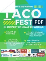 Tacofest 2018 Poster