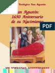 A.v. - San Agustin. en El 1650 Aniversario de Su Nacimiento