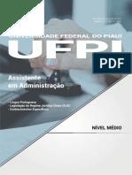 #Apostila UFPI - Assistente em Administração (2017) - Nova Concursos.pdf