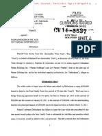 Pues Family Trust vs Lev Parnas, Parnas Holdings 2011