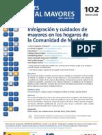 Inmigración y cuidados de mayores en los hogares de la Comunidad de Madrid