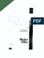 Compendio de filosofía del derecho. Definiciones y fines del derecho, tomo I - Michel Villey