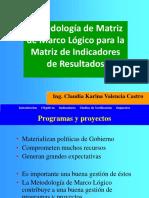 Ejemplo de Matriz de Marco Logico