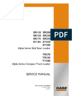 CASE SR175 Service Repair