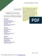 English Grammar, Tenses.pdf