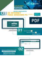 Instructivo 1 Cei - Navegador Web Internet