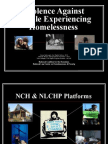 Violence Against People Experiencing Homelessness