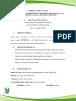 Visita Tecnica Planta Asfaltica Analisis Proceso Productivo