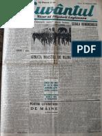 Cuvantul anul XVII (serie noua) nr. 5, 18 oct. 1940