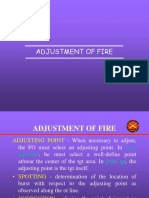 Adjustment of Fire