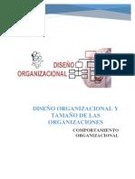 Diseño Organizacional y Tamaño de La Organización