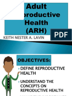 Adult Reproductive Health.keith Nester Lavin
