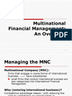 Ch1-Multinational Financial Management-An Overview