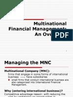 Ch1-Multinational Financial Management-An Overview
