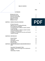 Table Nof Contents
