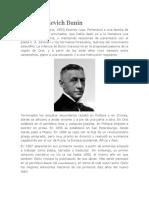 Biografia de Iván Alexéievich Bunin