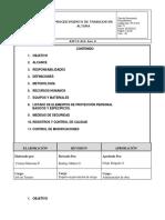 10. PT-010. Procedimiento de Trabajos en Altura