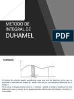 Metodo de Integral de Duhamel