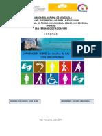 Convenio Internacional de Personas Con Discapacidad ANA PADILLA
