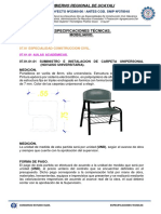 Esp.tecnicas Mobiliario