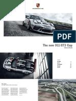 911 GT3 Cup - Vehicle Description