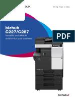 Bizhub c227-c287 Brochure
