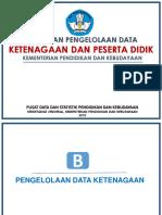 Kebijakan Pengelolaan Data PD Dan PTK Kemendikbud_maman