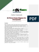 Castaneda, Carlos - El Utero Como Organo de Percepcion