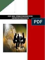 Fin Del Procedimiento Administrativo Arreglado