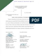 Defense Distributed v. Department of State - Stipulation of Dismissal (7/27/18)
