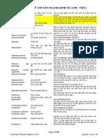 Thuật ngữ tiếng Anh ngành Kinh tế.docx