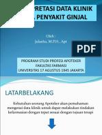 5. INTERPRETASI DATA KLINIK GANGGUAN GINJAL.ppt