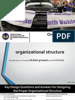 VII. Organizational Structure Fix